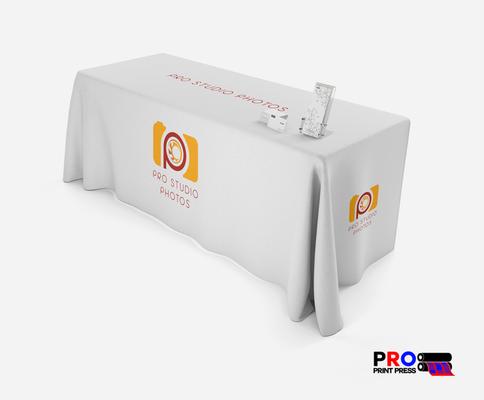 Custom Tablecloth printed by Pro Print Press